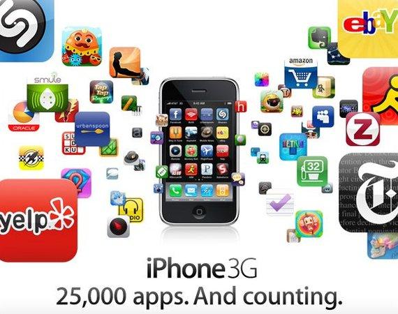 Quelques chiffres intéressants sur l'AppStore