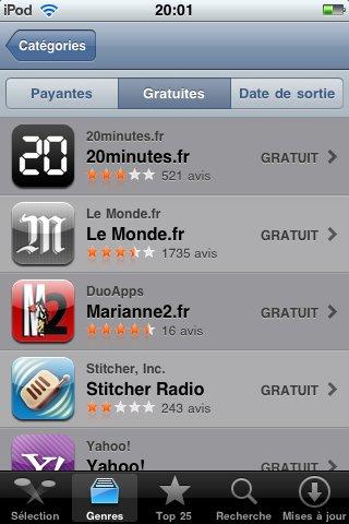 Marianne devient le premier hebdo français à être présent sur l'AppStore