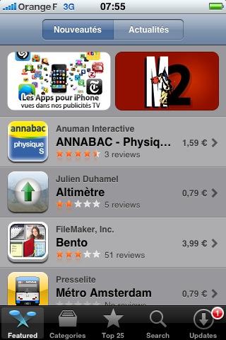 Marianne2.fr entame sa deuxième semaine de mise en avant sur l'AppStore