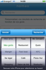 Conception d'interfaces sur iPhone