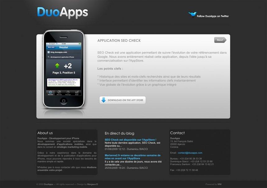 DuoApps.com est lancé