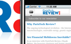 ParisTech Review sur iPhone