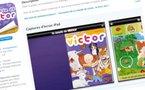 Première appli iPad en ligne - Le Monde De Victor